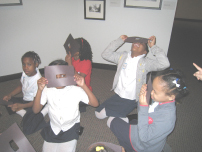 A field trip to the Smithsonian's Anacostia Community Museum.