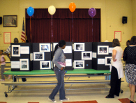 An LTP exhibition opening