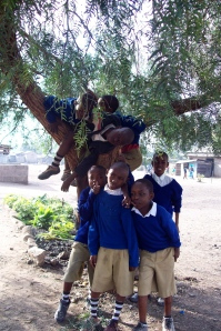 WHEN I WAS FIVE YEARS OLD I USED TO CLIMB TREES WITH MY FRIENDS