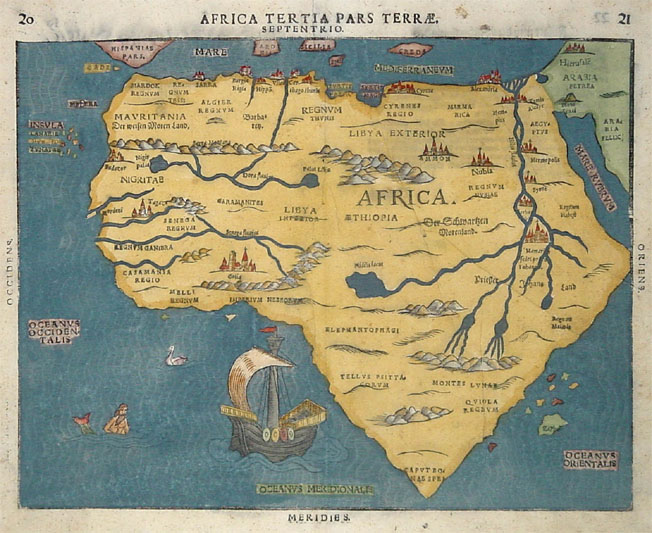 Examining the Ordinary Mapping Africa
